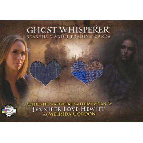 GHOST WHISPERER SEASONS 3&4 C9 MELINDA'S SHIRTS DUAL COSTUME CARD