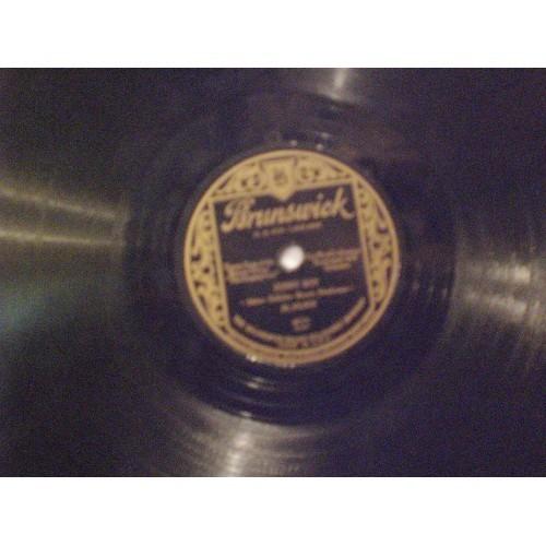 78 RPM: #895.. AL JOLSON - SONNY BOY & THERE'S A RAINBOW 'ROUND MY SHOULDER /