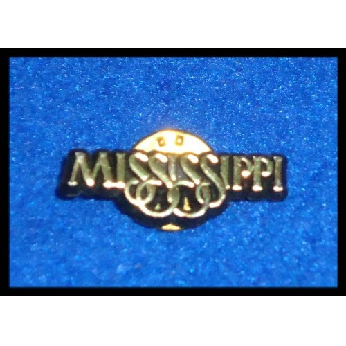 *BRAND NEW* AWESOME MISSISSIPPI STATE PIN ***GREAT FOR POLITICAL CONVENTIONS***