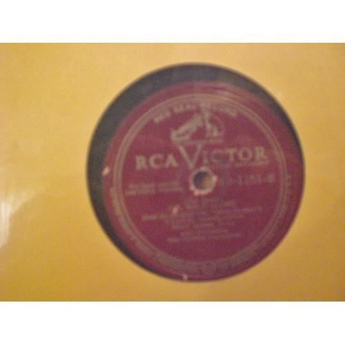 78 RPM: #902.. ALLAN JONES - I DREAM OF YOU & I'LL WALK ALONE / RCA VICTOR 10-