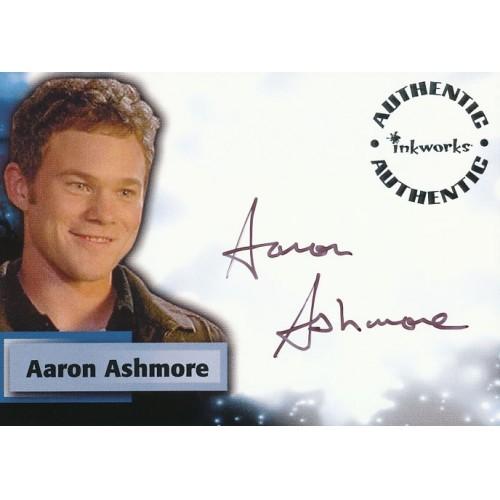 SMALLVILLE SEASON SIX A47 AARON ASHMORE AUTOGRAPH CARD