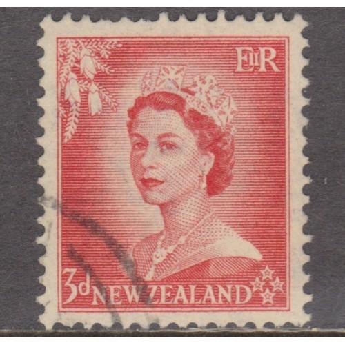 USED NEW ZEALAND #292 (1953)