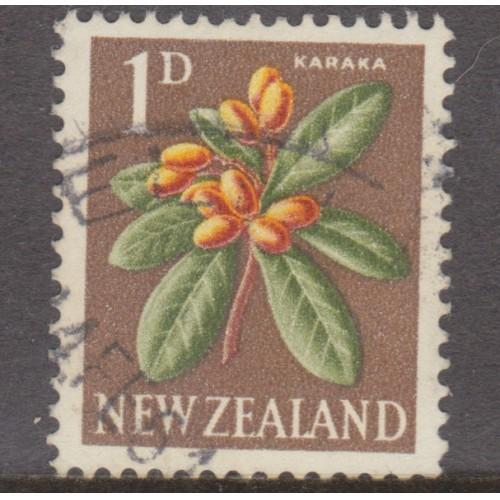 USED NEW ZEALAND #334 (1960)