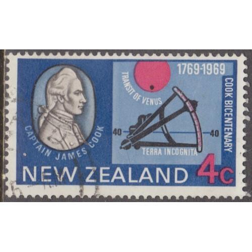 USED NEW ZEALAND #431 (1969)