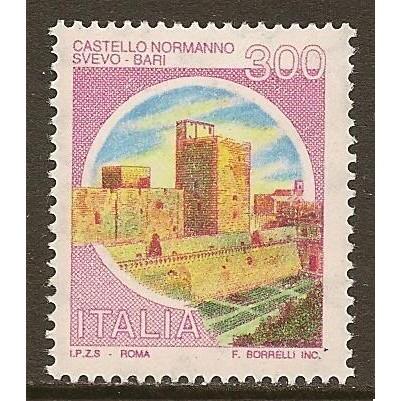 1980 Italy 300 Lire Castles Type mint**, Scott # 1422
