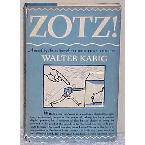 ZOTS by Walter Karig 1947 HCDJ