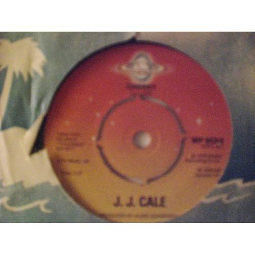 45 RPM: #2234.. J. J. CALE - I'M A GYPSY MAN & CHERRY / SHELTER 6434 / VG+ ..