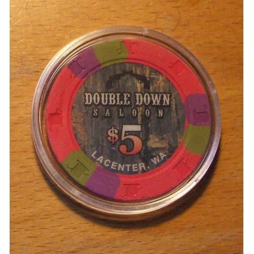Double Down Saloon $5. Casino Chip - LaCenter, WA