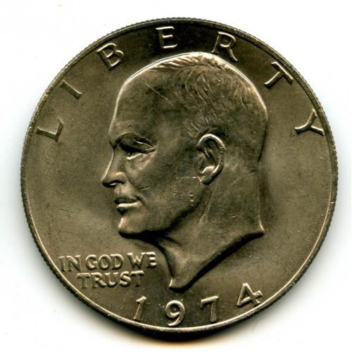 1974 Ike Dollars