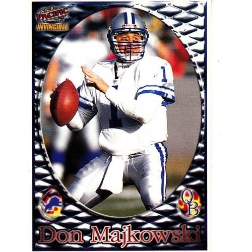 Don Majkowski #1 - Lions - Pacific 1990 football card *combine shipping @ 15¢