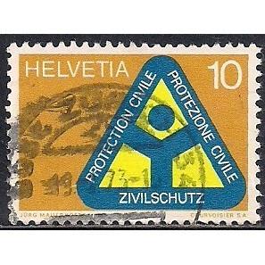 (CH) Switzerland Sc# 551 Used