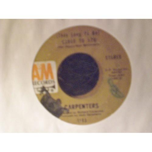 45 RPM: #2447.. CARPENTERS - CLOSE TO YOU & I KEPT ON LOVING YOU / A&M 1183 /