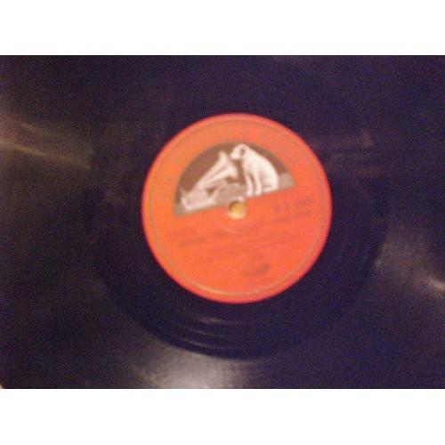 "78 RPM: #1035.. THE HALLE ORCHESTRA - OVERTURE ""DON PASQUALE"" (PARTS 1& 2) D.A."