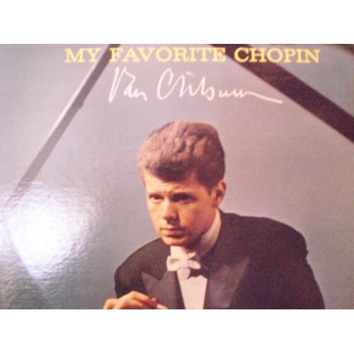 33 RPM:  #389.. VAN CLIBURN - MY FAVORITE CHOPIN / RCA LSC 2576 DEEP GROOVE .. V