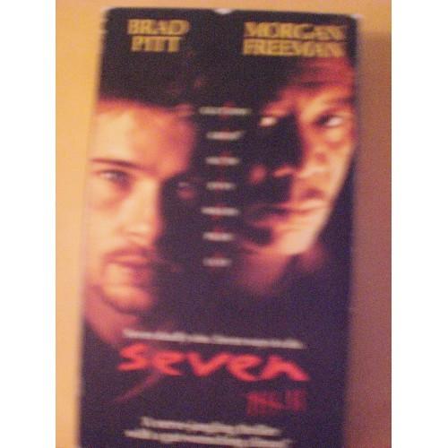 VHS TAPE: #242.. SEVEN .. BRAD PITT .. MORGAN FREEMAN .. KEVIN SPACY