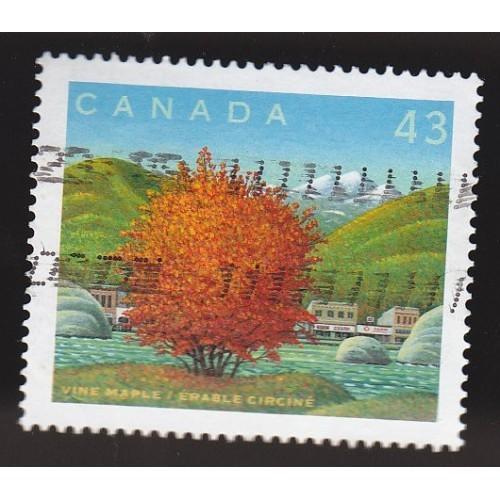 Canada 1524j Canada Day: Vine Maple CV = 0.75$