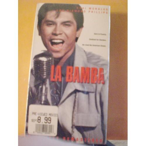 VHS MOVIE: #236.. LA BAMBA - ESAI MORALES .. LOU DIAMOND PHILLIPS