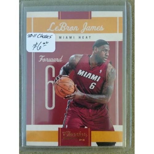 2010-11 Classics #95 LeBron James HEAT CAVS CAVALIERS NBA