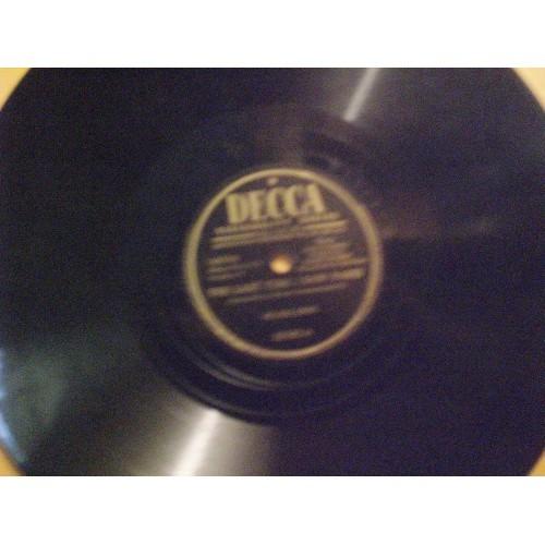 78 RPM: #1185.. HILDEGARDE - THE LAST TIME I SAW PARIS & WHY DO I LOVE YOU / DEC