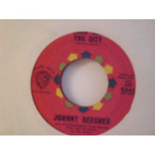 45 RPM: #348 .. JOHNNY BEECHER - JACK SAX THE CITY & SAX FIFTH AVENUE / WB 5341