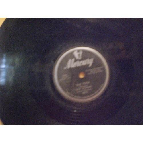 78 RPM: #1227.. EDDY HOWARD - BE ANYTHING & SHE TOOK / MERCURY 5615 / VG