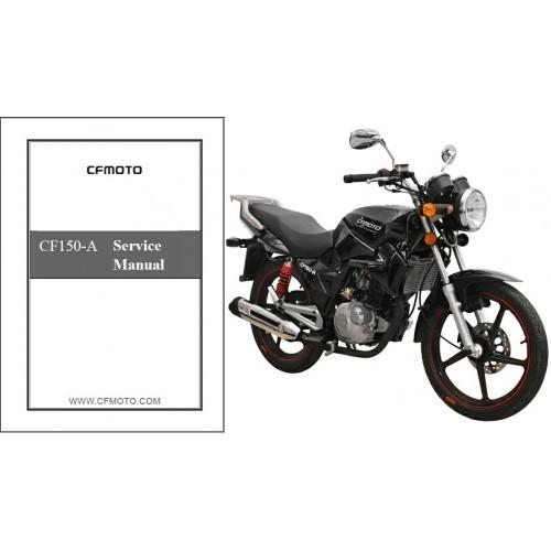 CFMoto CF150-A Leader 150 Service Repair Workshop Manual CD ----- CF Moto