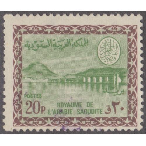 USED SAUDI ARABIA #412 (1968)