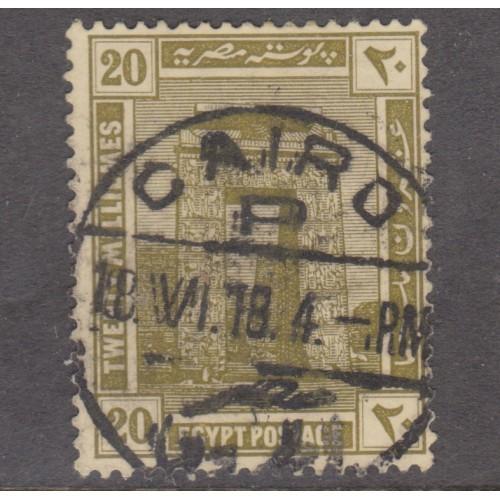 USED EGYPT #56 (1914)