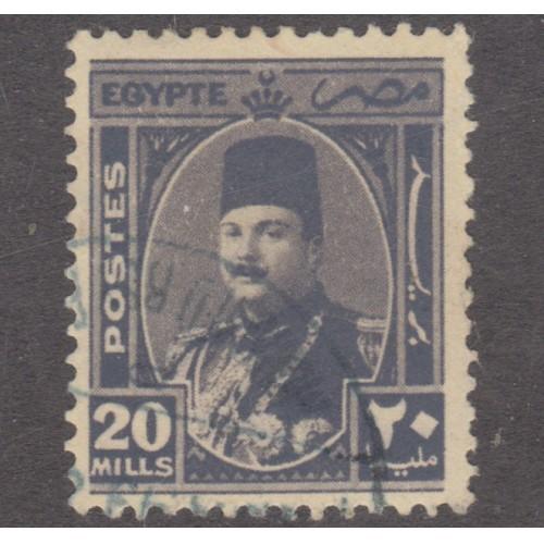 USED EGYPT #250 (1945)