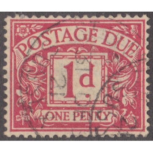 USED GREAT BRITAIN #J2 (1914)