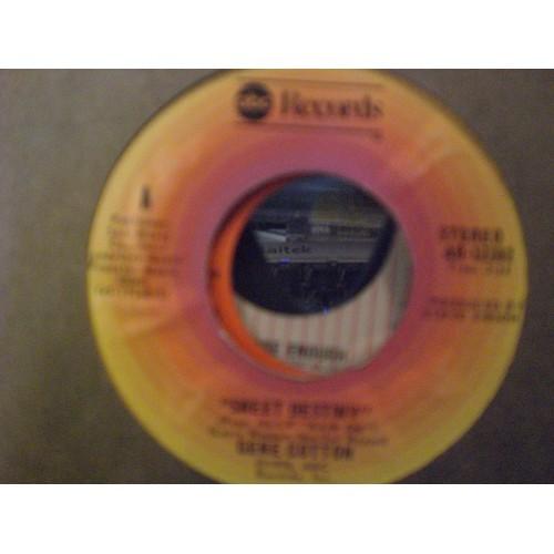 45 RPM: #3075.. GENE COTTON - SWEET DESTINY & MY LOVE COMES ALIVE / ABC 12282 /