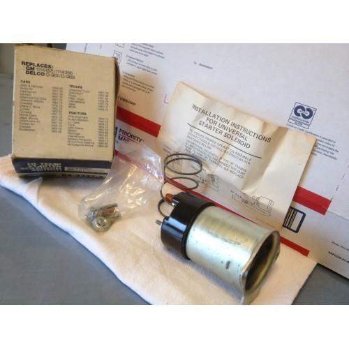 Starter solenoid, GM/MOPAR/Others.    NOS.  Item:  6264