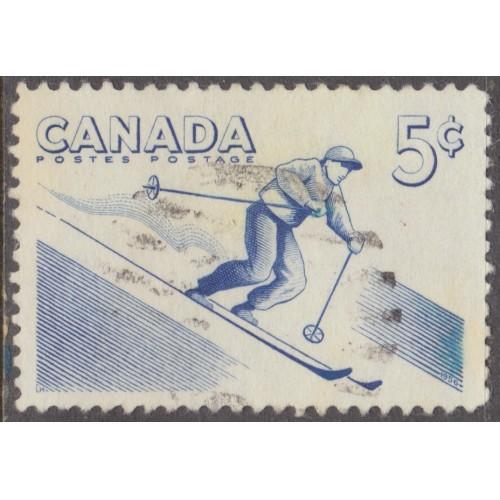 USED CANADA #368 (1957)