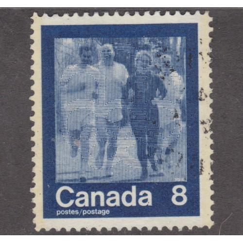 USED CANADA #630 (1974)