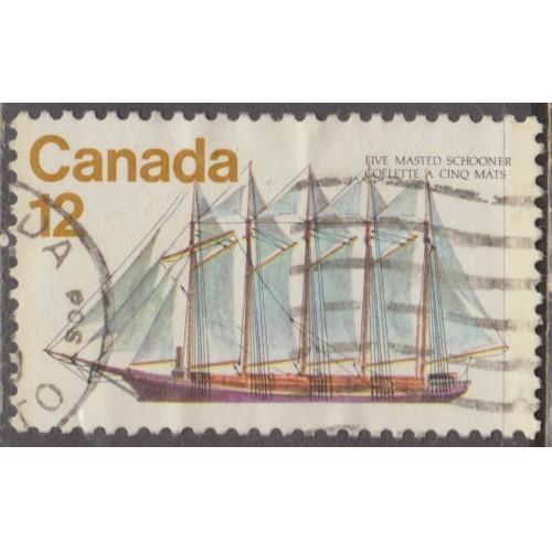 USED CANADA #746 (1977)
