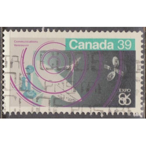 USED CANADA #1079 (1986)