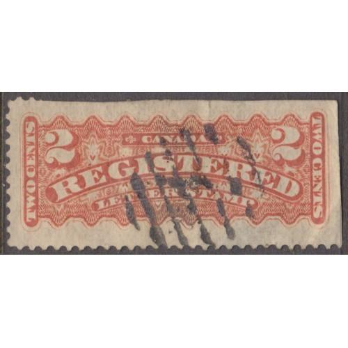 USED CANADA #F1 (1875)