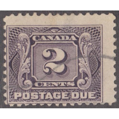 USED CANADA #J7 (1930)