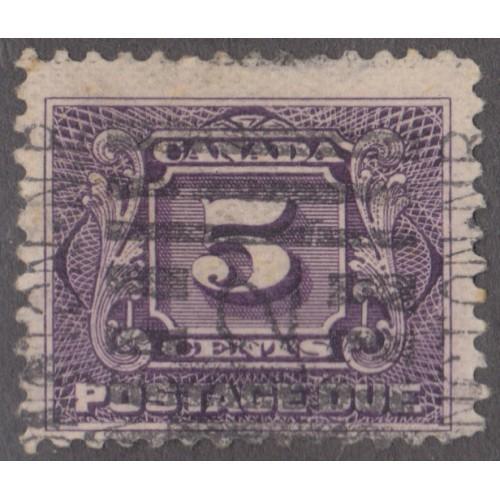 USED CANADA #J9 (1930)