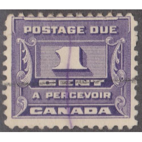 USED CANADA #J11 (1934)