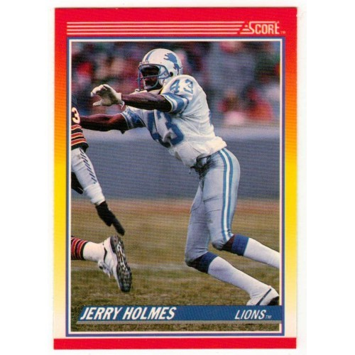 1990 Score Jerry Holmes NFL Trading Card # 242 - LN