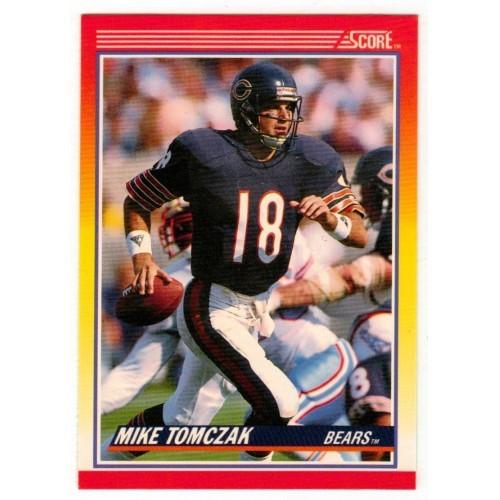 1990 Score Mike Tomczak NFL Trading Card # 244 - LN