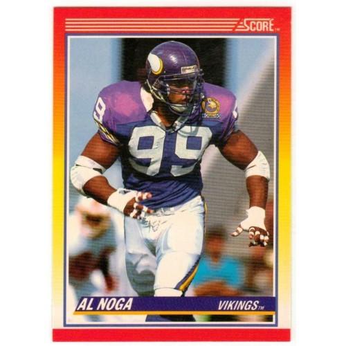 1990 Score Al Noga NFL Trading Card # 278 - LN