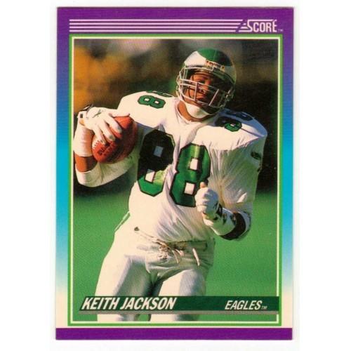 1990 Score Keith Jackson NFL Trading Card # 210 - LN