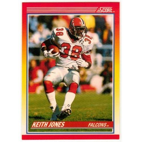 1990 Score Keith Jones NFL Trading Card # 228 - LN
