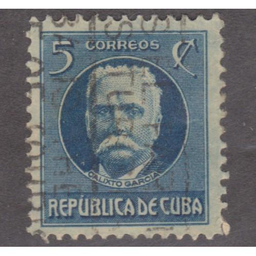 USED CUBA #268 (1917)