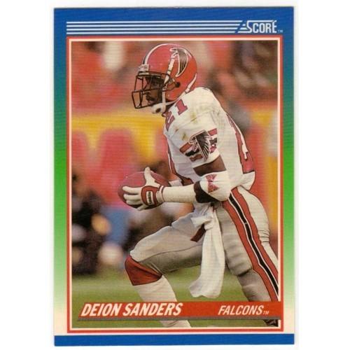 1990 Score Deion Sanders NFL Trading Card # 95 - LN