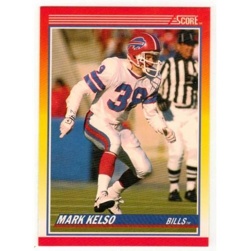 1990 Score Mark Kelso NFL Trading Card # 267 - LN