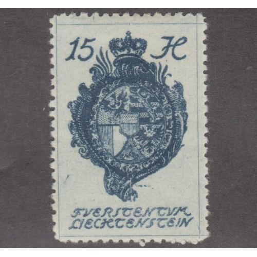 UNUSED LIECHTENSTEIN #34 (1920)