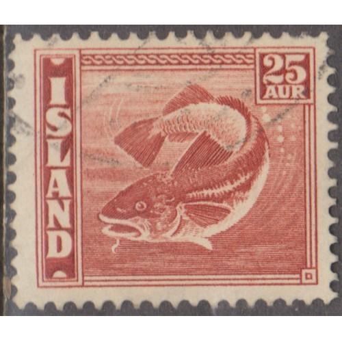 USED ICELAND #224 (1940)